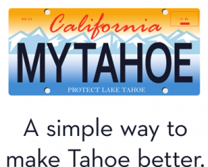 Tahoe License Plates